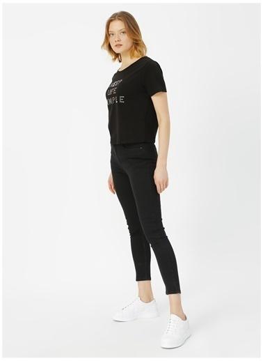 Limon Company Limon Siyah Denim Pantolon Siyah